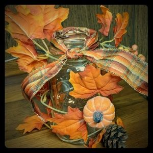 SALE! Autumn Mason Jar
